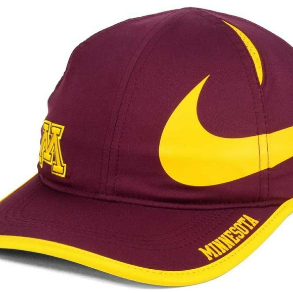 outlet store 938a6 bcf6b Minnesota Golden Gophers Nike NCAA Big Swoosh Hat